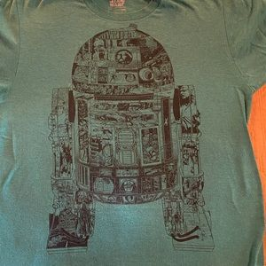 R2D2 graphic tee